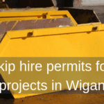 Skip hire permits for projects in Wigan